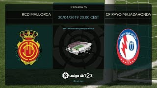 RCD Mallorca - CF Rayo MD35 S2000