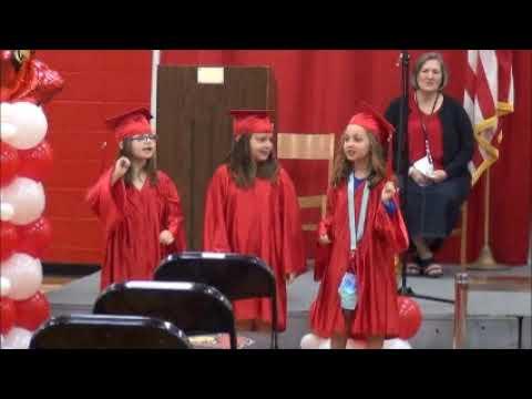 Red Bird Christian School 2021 Kindergarten graduation
