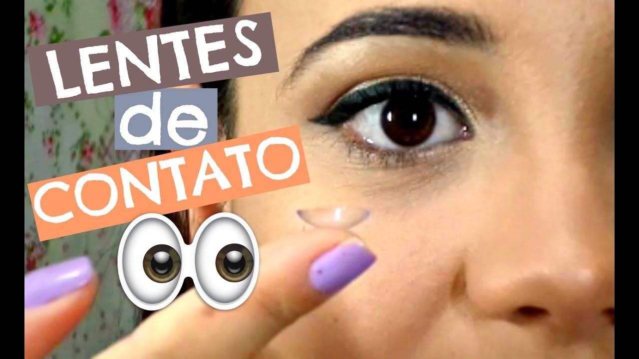 LENTES DE CONTATO COM GRAU  Como usar   Cuidados! - YouTube ed1f28d74a