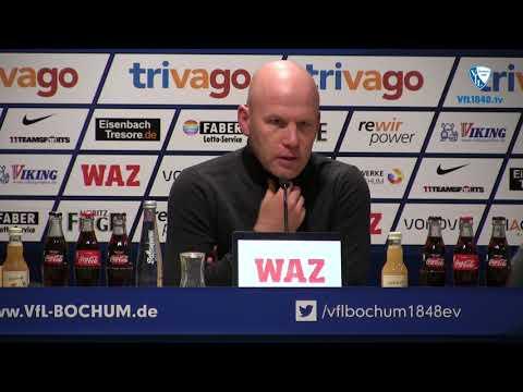 Die Pressekonferenz vor der Partie VfL Bochum 1848 - 1. FC Union Berlin