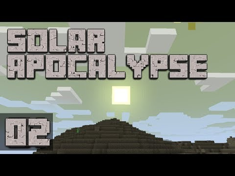 ►Solar Apocalypse: THE PLANS! | Ep. 2 | Modded Minecraft Survival◄