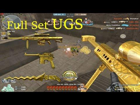 [ Bình Luận CF ] 3z-Ultimate Goldsmith, Keris-UGS - Tiền Zombie v4