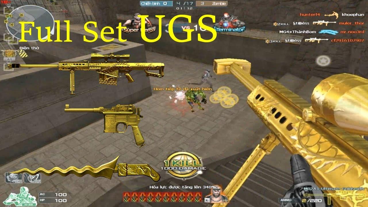 [ Bình Luận CF ] 3z-Ultimate Goldsmith, Keris-UGS - Tiền Zombie v4 - YouTube