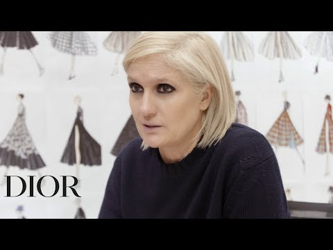 Maria Grazia Chiuri's Interview – Dior Autumn-Winter 2019-2020 show