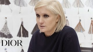 Maria Grazia Chiuri's Interview - Dior Autumn-Winter 2019-2020 show