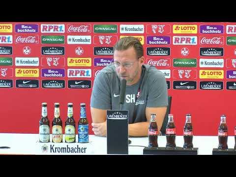 LIVE: Pressekonferenz vor dem Auswärtsspiel beim SC Preußen Münster