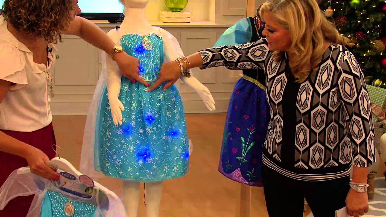 Disney S Frozen Anna Light Up Musical Dress With Pat James