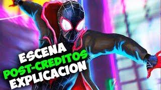 Spider-Man Spiderverse Escena Post-creditos Explicación