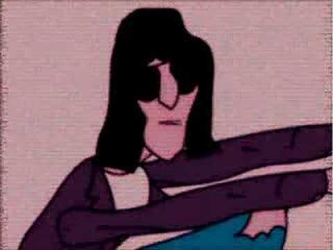 Ramones Cartoon -Judy Is A Punk