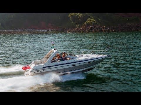 Sunseeker Portofino 31 by drone