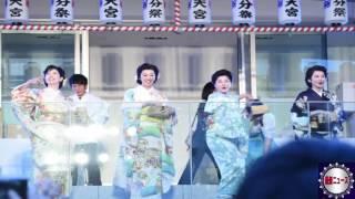賀来千香子×水野真紀×紫吹淳×壮一帆が4姉妹で豆まき「一生に一度は細雪」