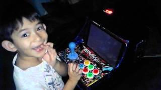Tekken 5 mini arcade card board