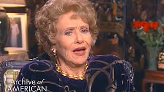 "Ruth Warrick on Mia Farrow on ""Peyton Place"" - TelevisionAcademy.com/Interviews"