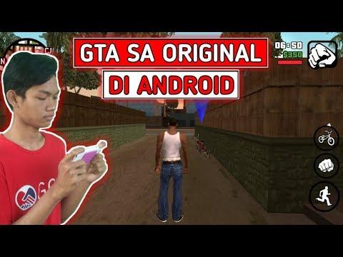 Cara memainkan gta san andreas android full version!! | Toturial.