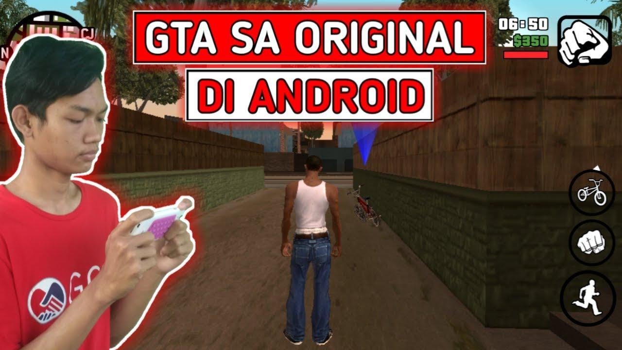 Cara Download & Install GTA SA Original di Android