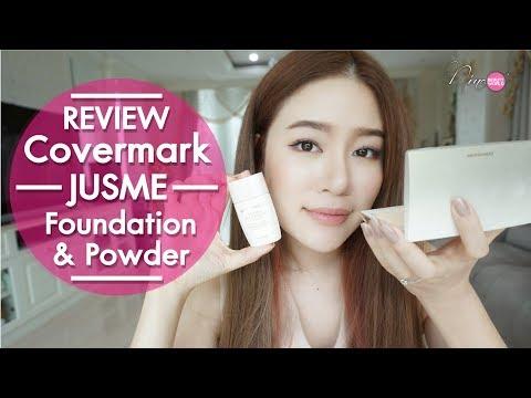 REVIEW    รองพื้นบางเบา เนียนกริ๊บจาก Covermark JUSME     NinaBeautyWorld - วันที่ 21 Jun 2018