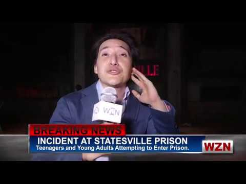 Reporting Live from Statesville Haunted Prison