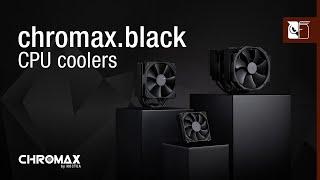 Noctua chromax.black CPU coolers