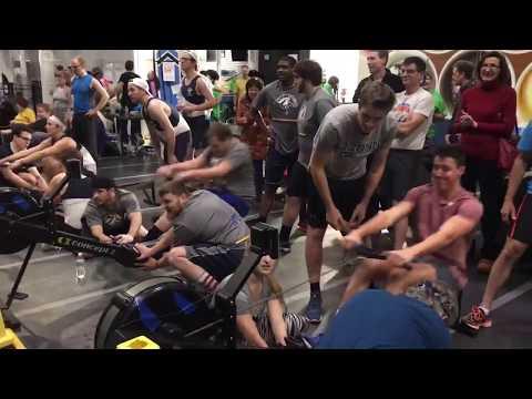 Canal Dock Indoor Rowing Relay & Raffle 2017