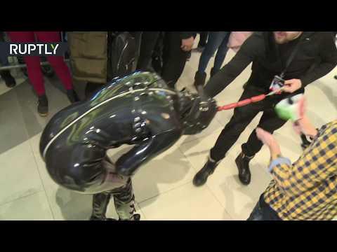 Quinn & Cantara Morning Show - Rammstein Front man has himself a pet... she follows him everywhere