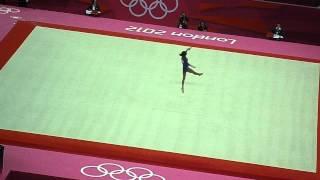 Gaby Douglas (USA) 2012 Olympics Floor
