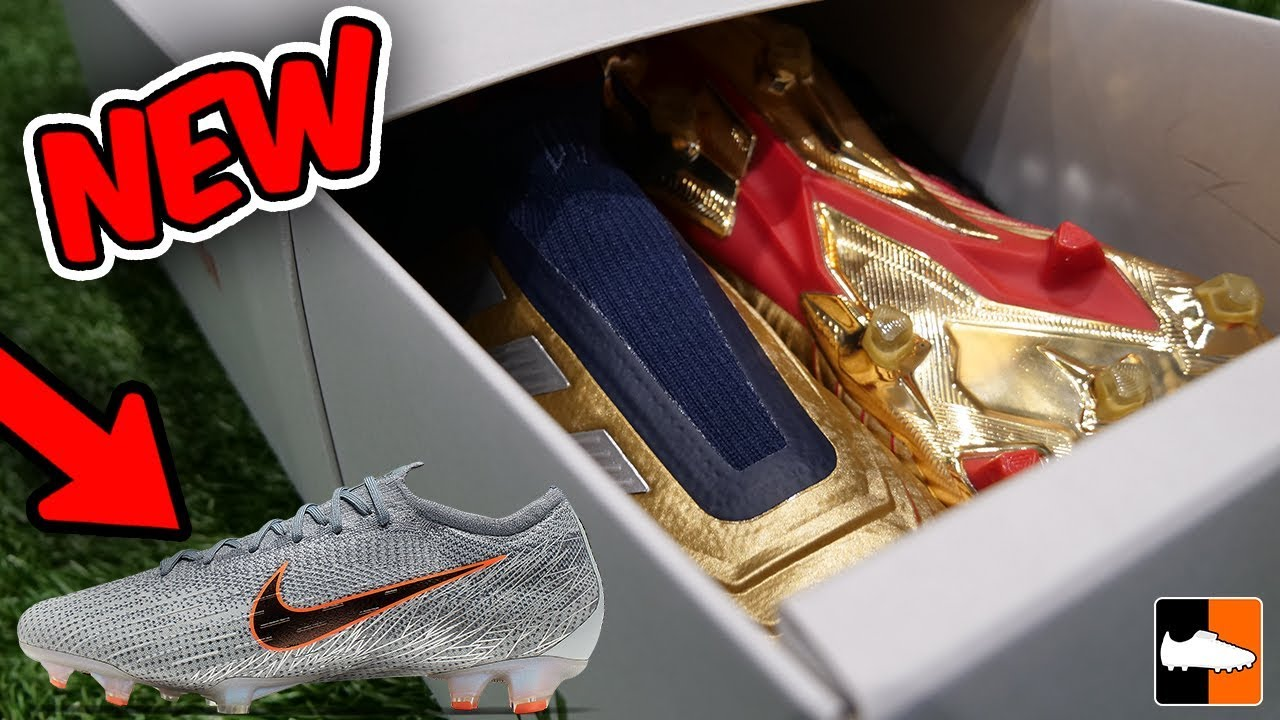 f108fbdffd8 Incredible POGBA Gold Boots + New NIKE   Limited Editions! - YouTube