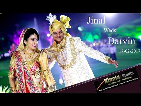 JINAL Weds  DRAVIN _ Highlight