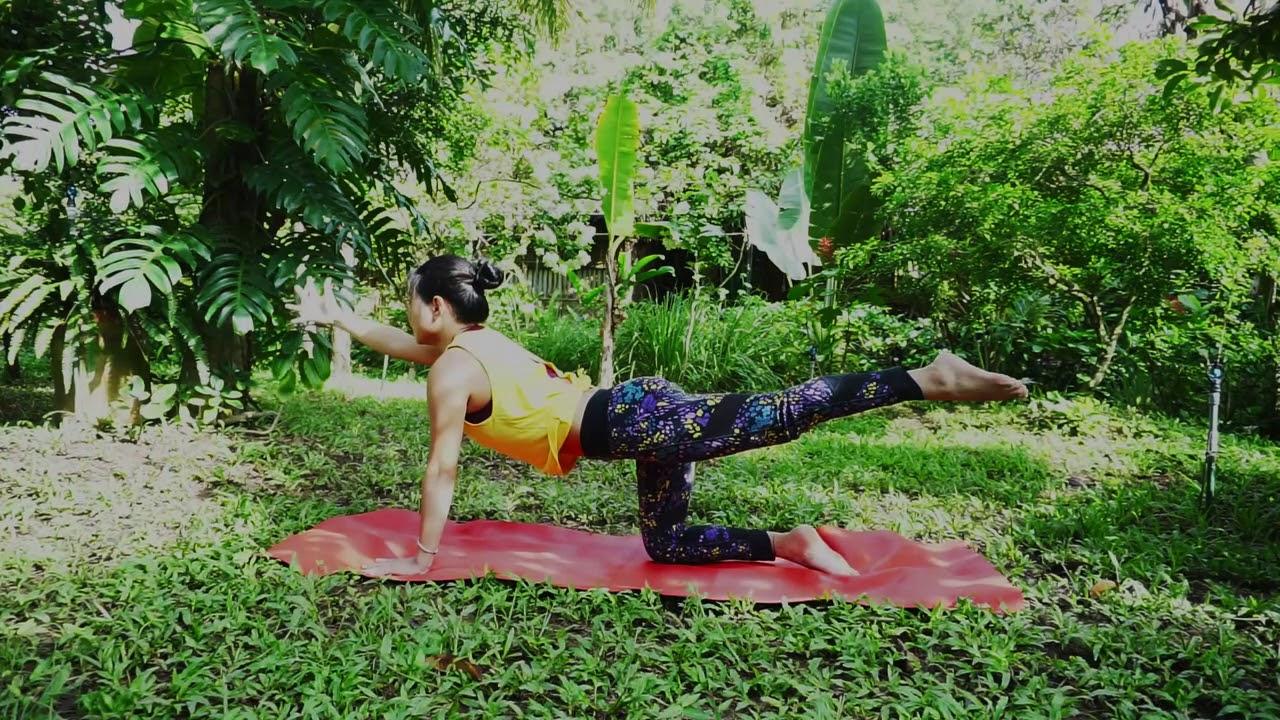 Bài tập 30 phút Yoga Buổi sáng - thư giãn tâm trí, kéo giãn cơ thể và mang năng lượng cho cả ngày