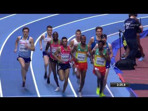 Men's 1500m FINAL WIC Birmingham 2018 (Marcin Lewandowski)