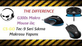 Makro Dersleri - CS GO Tec-9 Seri Sıkma Makrosu #2