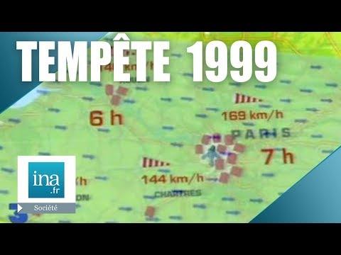 1999, tempête du siècle sur la France | Archive INA