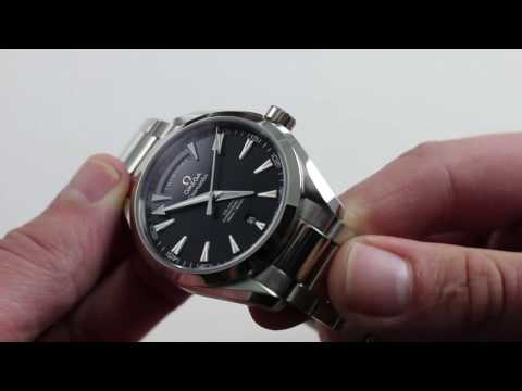 Omega Seamaster Aqua Terra Day-Date Luxury Watch Review