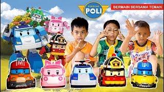 Bermain Robocar Poli Terbaru Bersama Teman | Mainan Anak | Robocar Poly Toys | Praya Brother