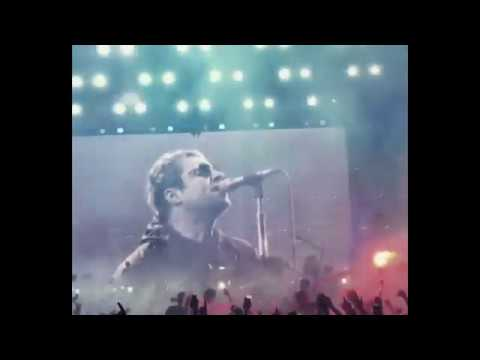 Liam Gallagher, LCCC, Old Trafford, Manchester, August 18, 2018 (Clips)