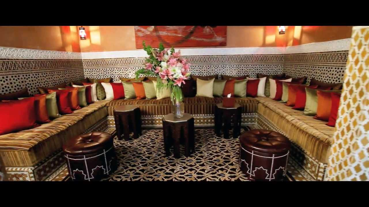 royal mansour riads film luxury hotel  marrakech morocco youtube