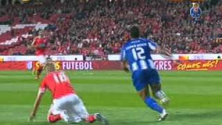 Liga Portuguesa 10/11 (25ªJ): Benfica 1-2 FC Porto (03-04-2011)