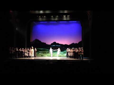Curtain Call on the Thai version of the Sound of Music (Apr 19 matinee)