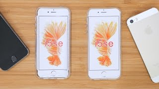 Hands-On: iPhone SE Case Compared to iPhone 5s
