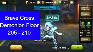 Brave Cross - Demonion floor 205-210