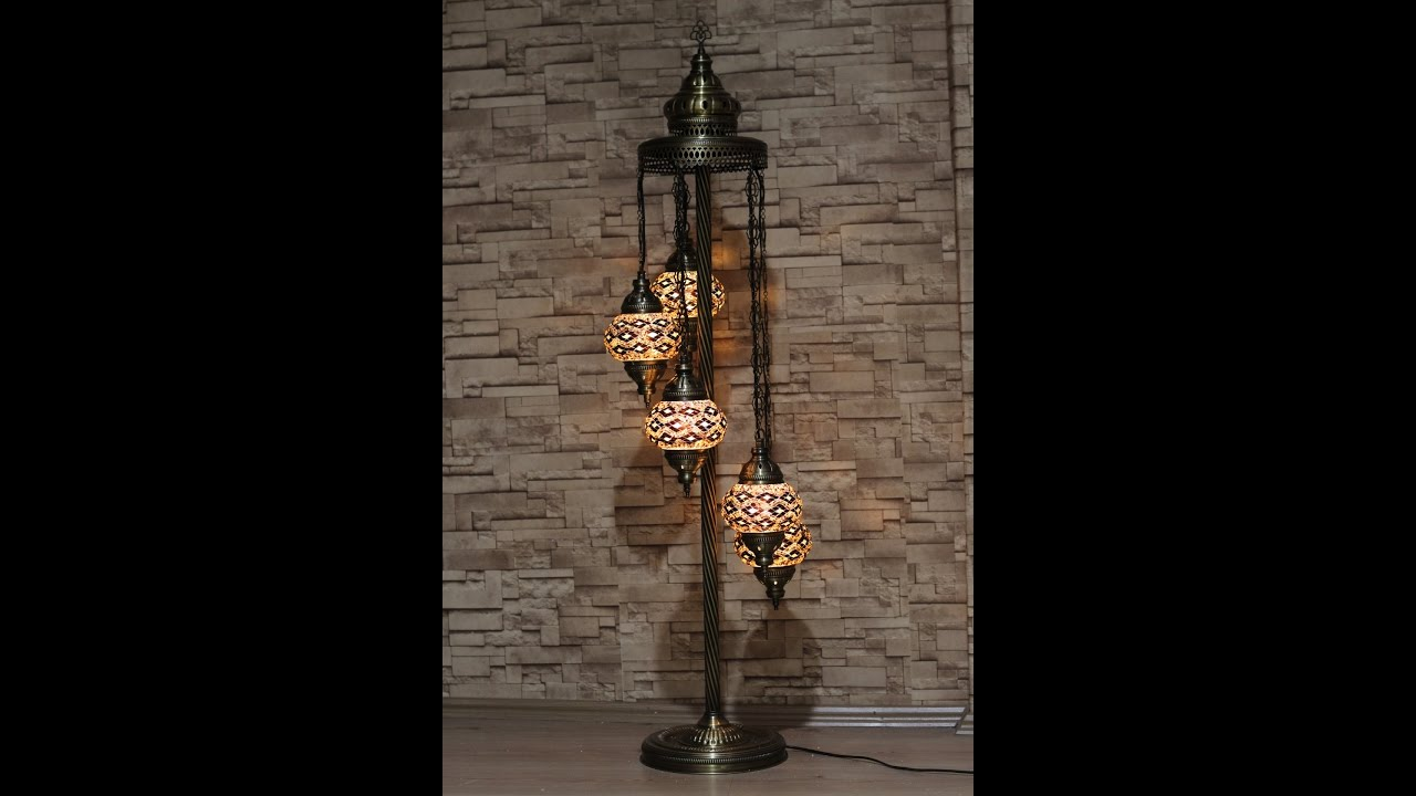 Mosaic floor lamp youtube mosaic floor lamp mozeypictures Choice Image