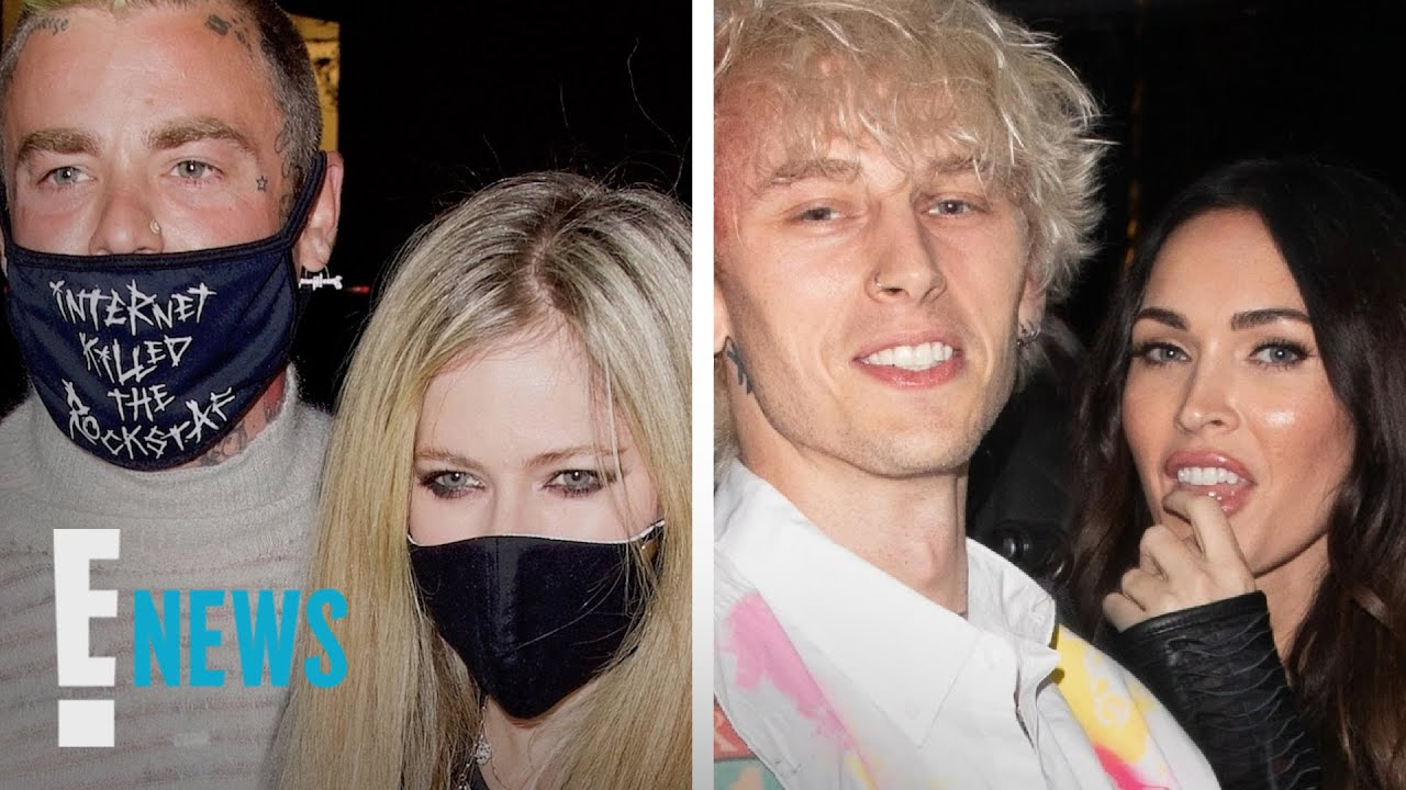 Inside Megan Fox & MGK's Double Date With Avril Lavigne & Mod Sun