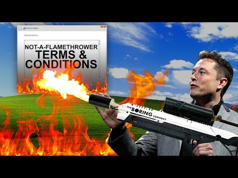 What You Have To Do To Get a Boring Company Flamethrower (Muskwatch w/ Kyle Hill & Dan Casey)