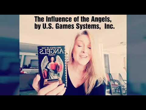 Influence Of The Angels Tarot Deck