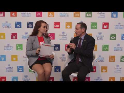 Risk Reduction and its role for the SDGs: Robert Glasser,  UN