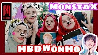 몬스타엑스 원호 MONSTA X Wonho Birthday & Support from Arab Monbebe