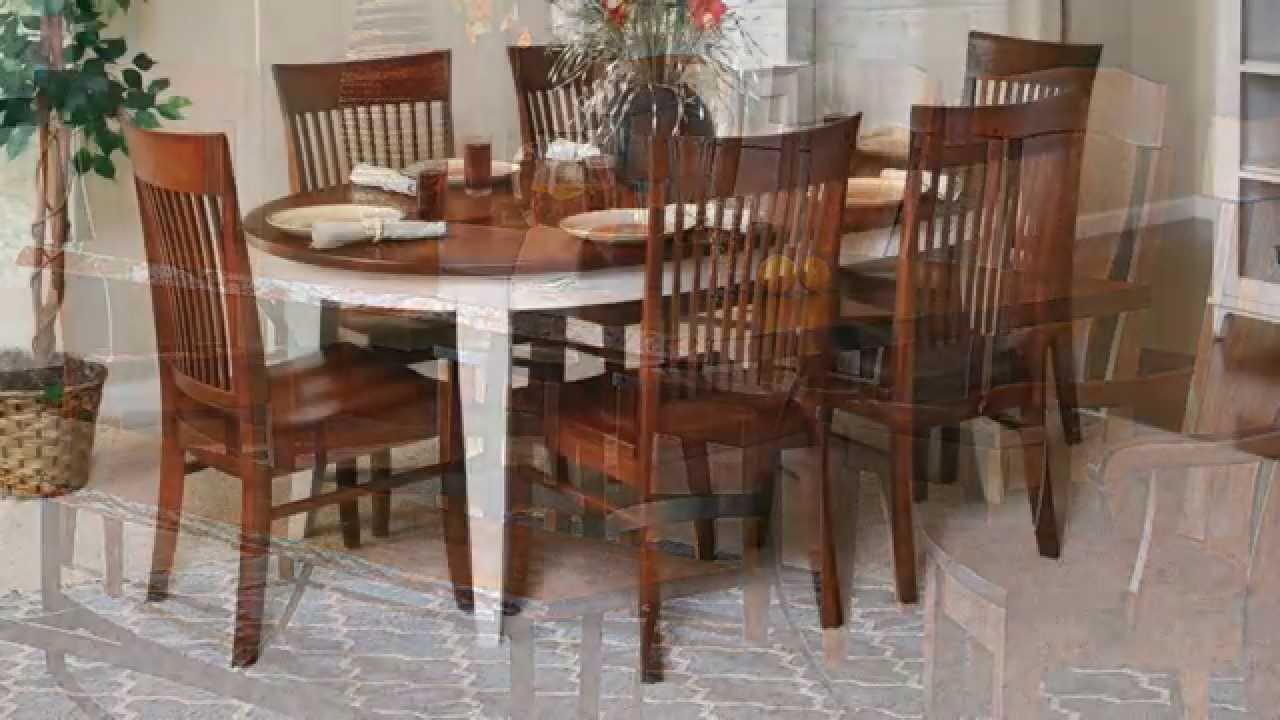 Amish Dining Sets | King Dinettes - YouTube