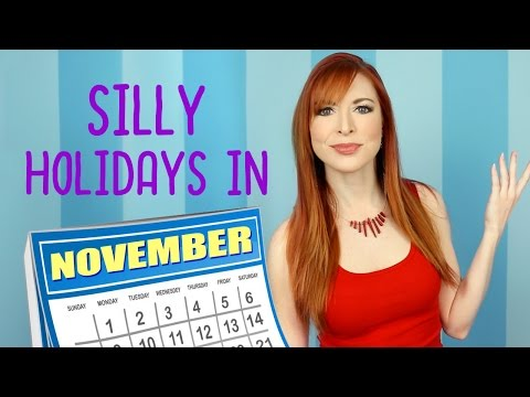 Silly Holidays In November