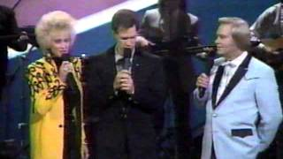 Randy Travis & George Jones, Tammy Wynette, Roy Rodgers, Vern Gosdin   Heroes and friends CMA 91)=(1