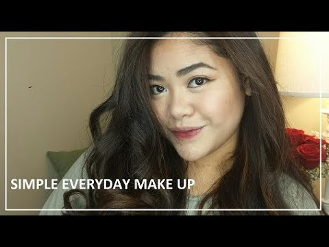 simple everyday makeup look  makeupbyflorence  youtube