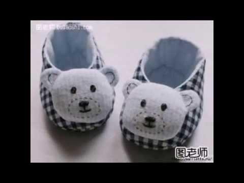 Как сшить домашние тапки для ребенка.How To Sew Slippers For Children.